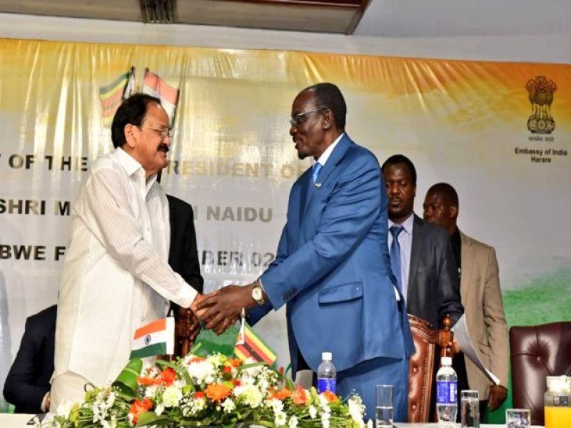 Naidu tells Zimbabwe companies to take advantage of India's high growth trajectory