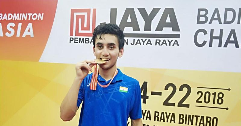 Lakshya had a fabulous 2018 where he won the Asian Junior Championship