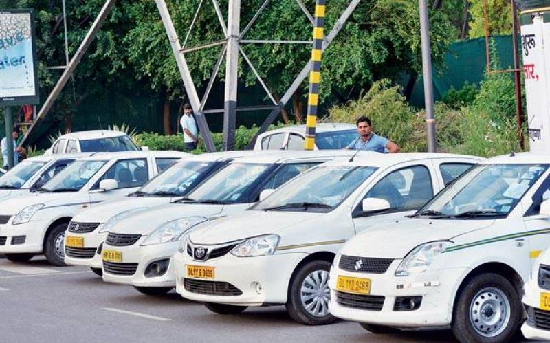 Taxi drivers income had declined sharply with the app-based service providers