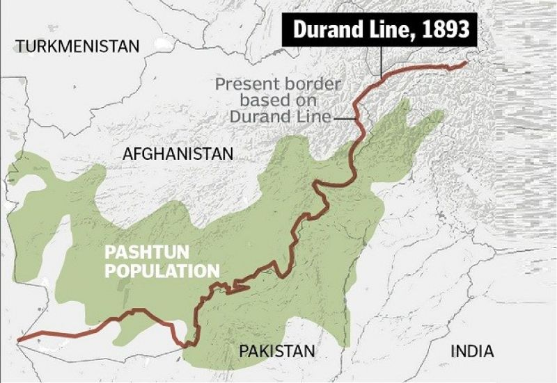 Durand Line the biggest British crime of the 19th century