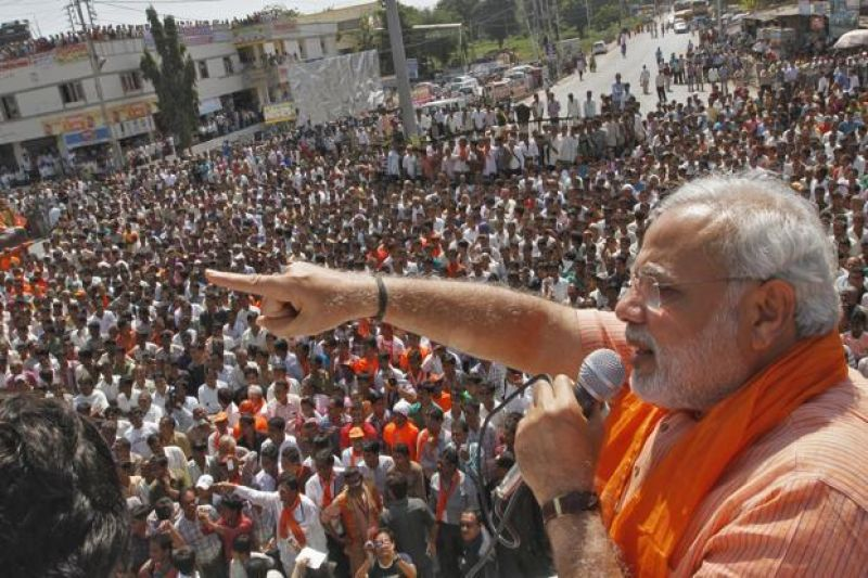 Lok Sabha poll campaign