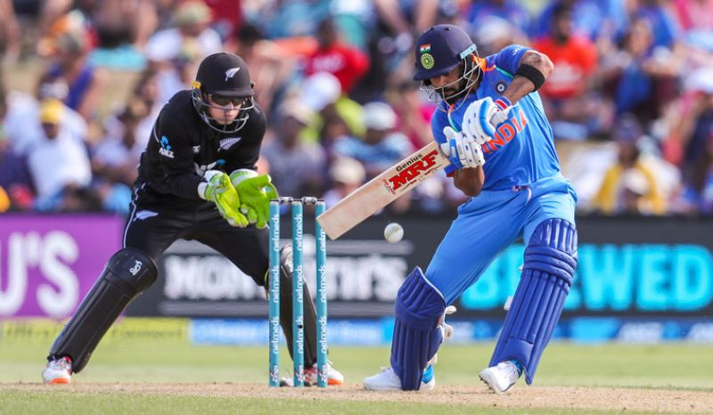 New Zealand bowlers were hit all over the park