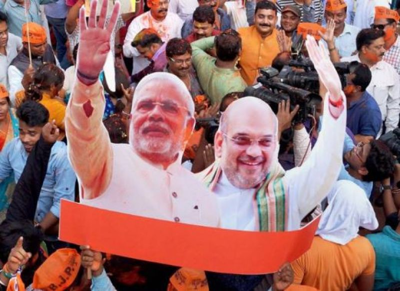 BJP sweeps coastal K'taka; wins 18 out of 21 seats