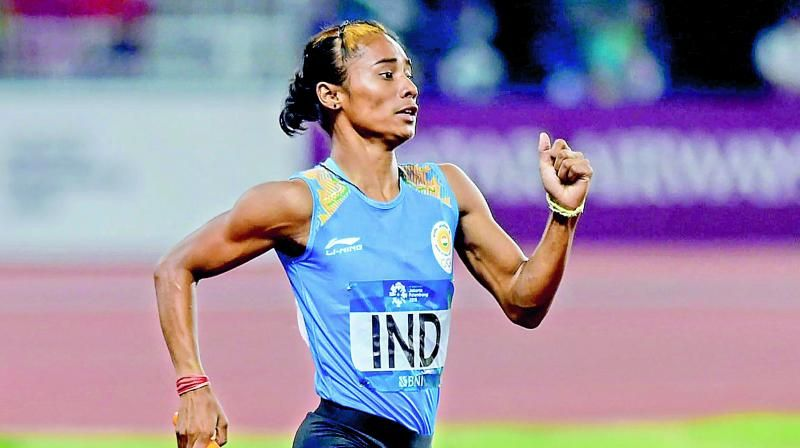 Will continue to improve my timing: Hima Das