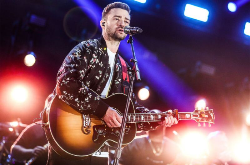 Timberlake was forced to postpone another month