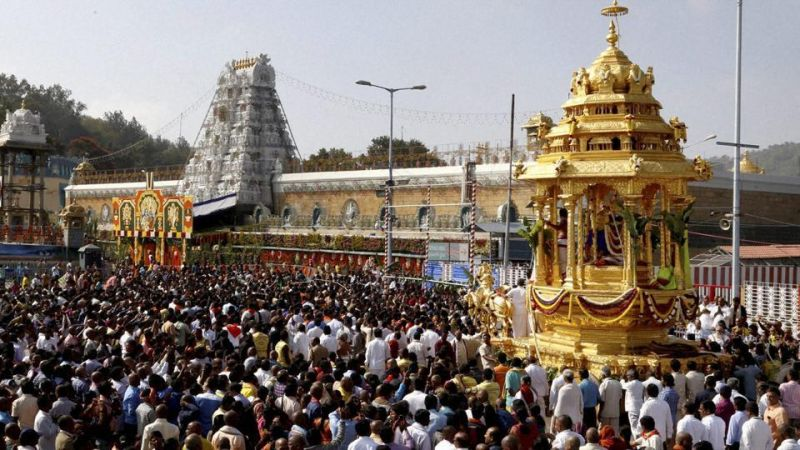 Take a tour of iconic Tirupati temple without standing in long queues