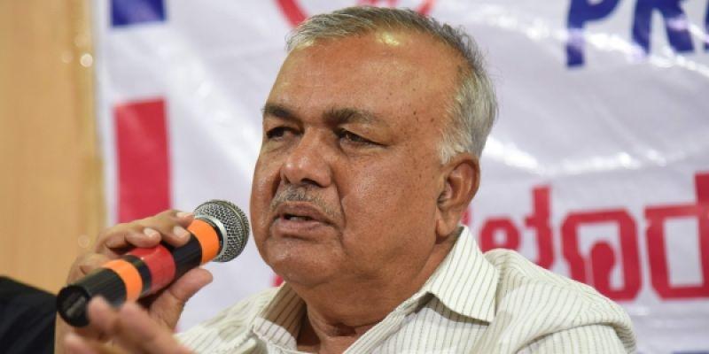 Former Minister Ramalinga Reddy