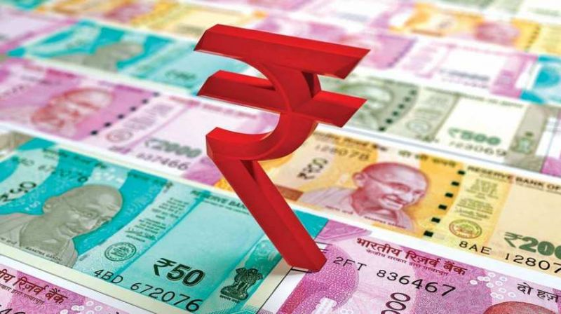 rupee opened strong at 71.72