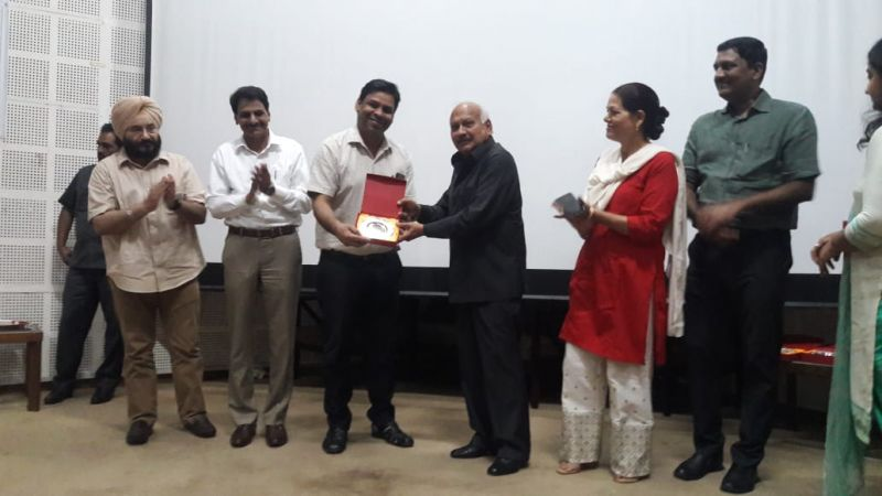 Brahm Mohindra also honoured the District Dental Health Officers