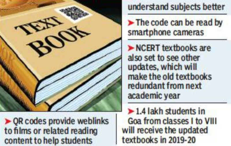 NCERT Textbooks to Have QR Codes