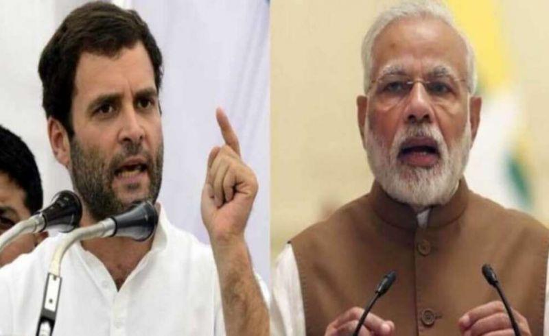 Rahul Gandhi accuses Modi of corruption in Rafale deal