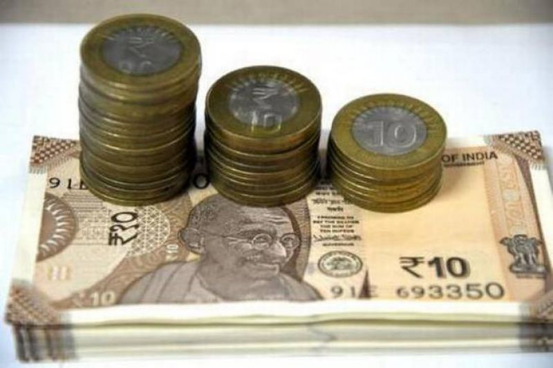 rupee up by 15 paise