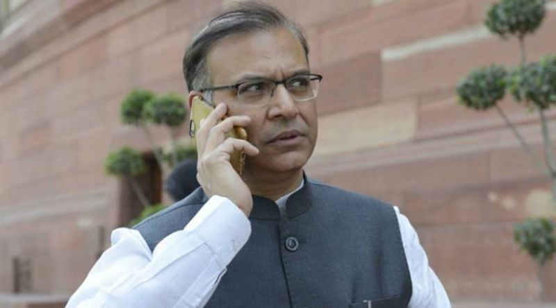 Union Minister Jayant Sinha