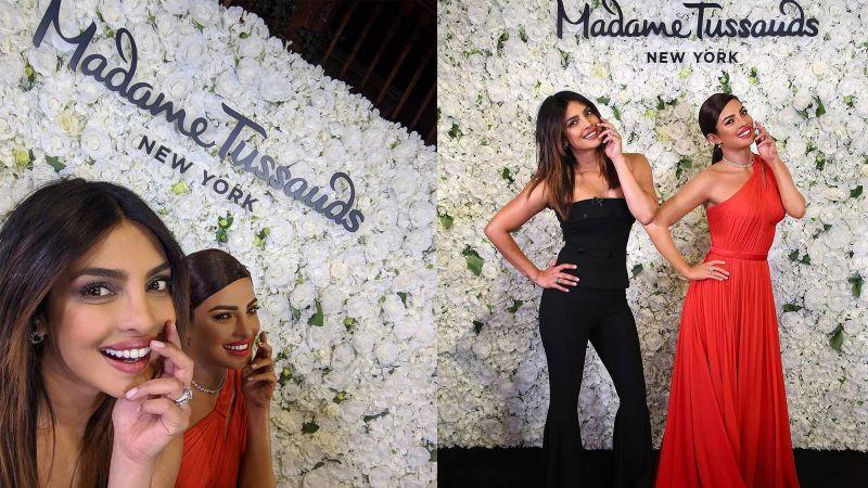 Priyanka Chopra gets a wax statue at New York Madame Tussauds