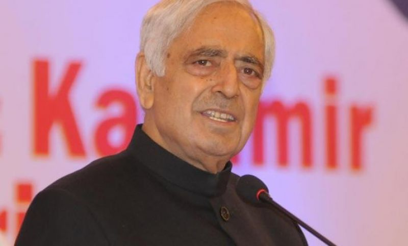 Former chief minister Mufti Muhammad Sayeed