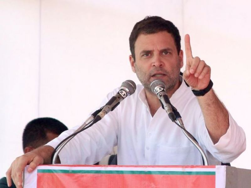 Grand alliance of oppn a sentiment of people, Rahul