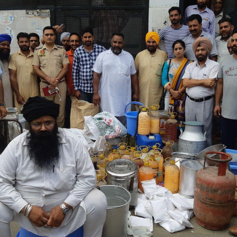 raid by Food Safety Team Ludhiana