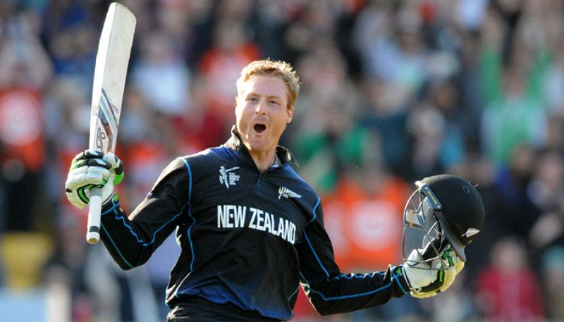 Guptill struck 102 from just 38 balls