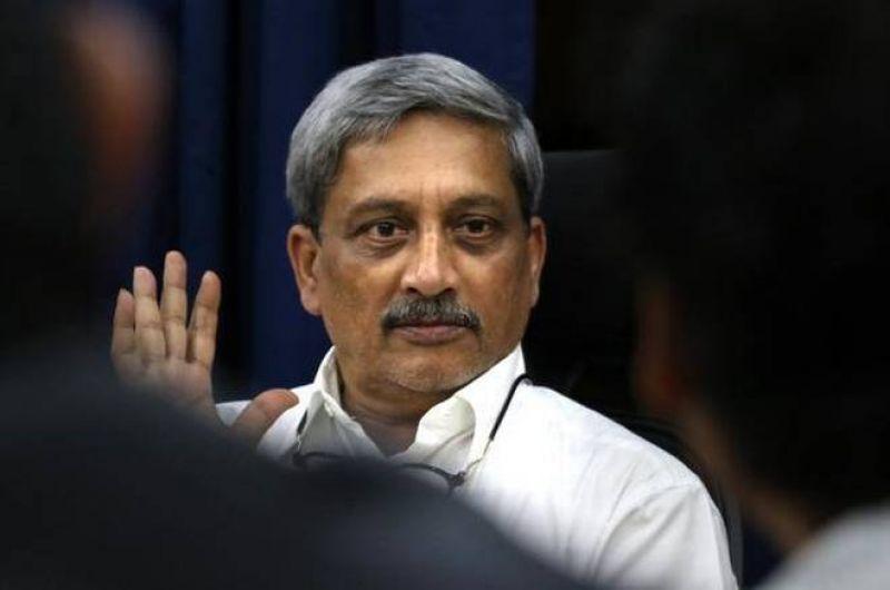 Chief Minister Manohar Parrikar