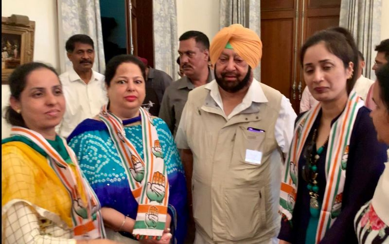 thanked the Chief Minister for giving her the opportunity to serve Patiala