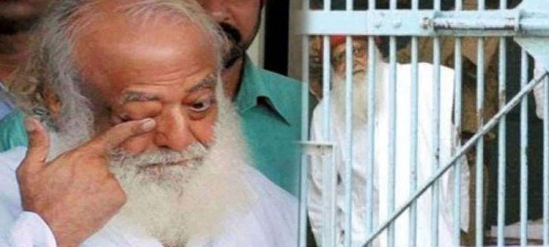 Asaram serving a life term at  Jodhpur jail