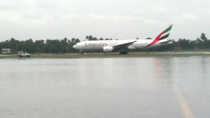 The incessant rains also disrupted landing operations
