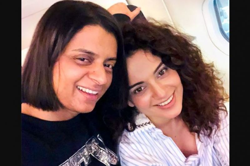 Rangoli and Kangana