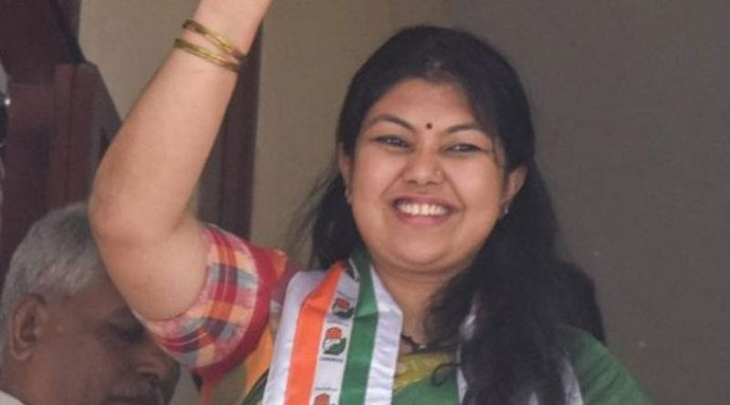 Congress' Sowmya Reddy secured 54,457 votes
