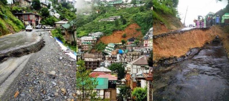 Mizoram landslides leave a trail of destruction