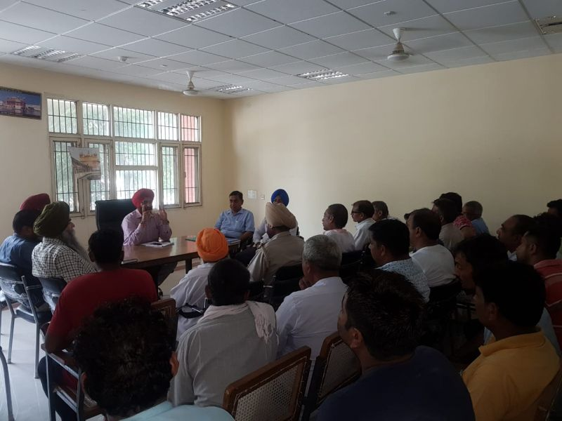 Sensitization meetings with stakeholders are afoot at district and sub-divisional level