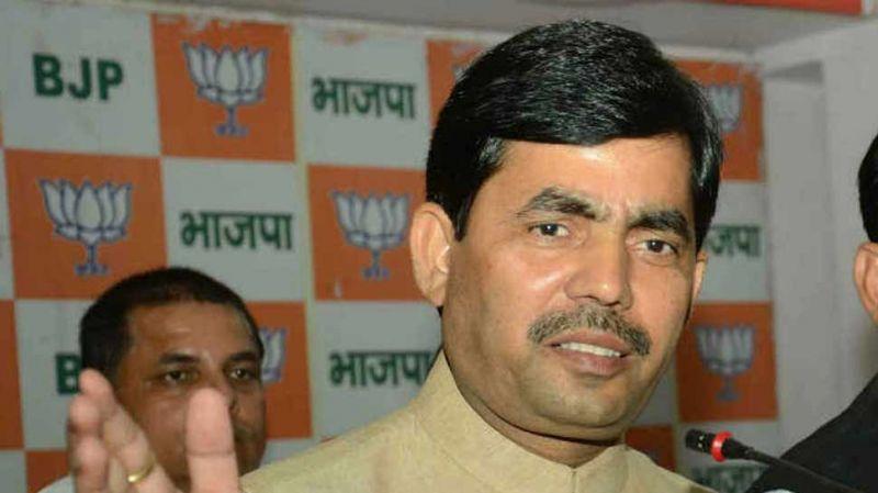 BJP spokesperson Shahnawaz Hussain