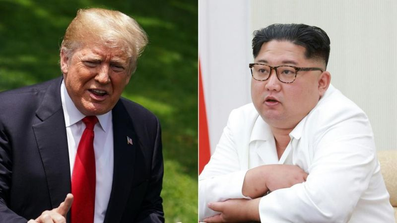 Talks between Donald Trump and Kim Jong-un