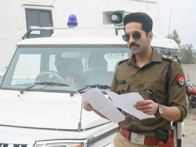 Ayushmann as a cop