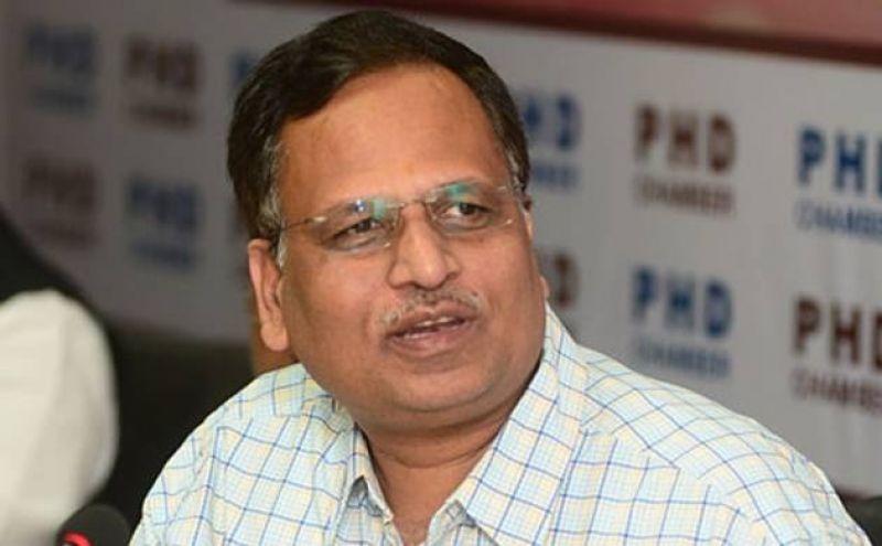 Health Minister Satyendar Jain