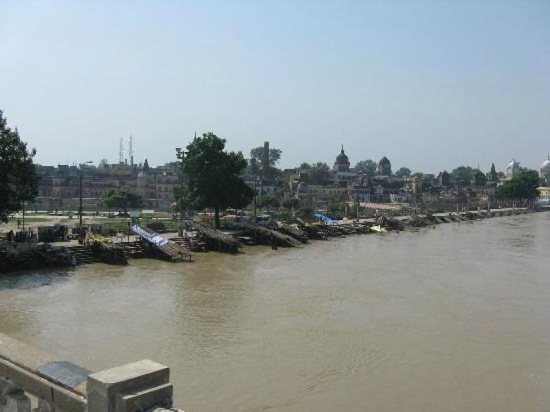 Waterways will be developed in Saryu river