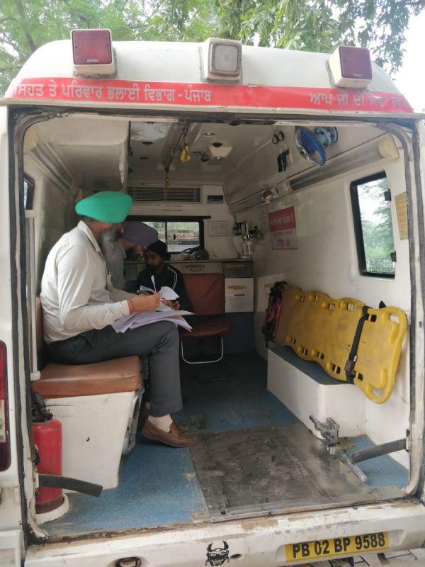Vigilance Bureau Conducts Surprise Checking Of Ambulances 108