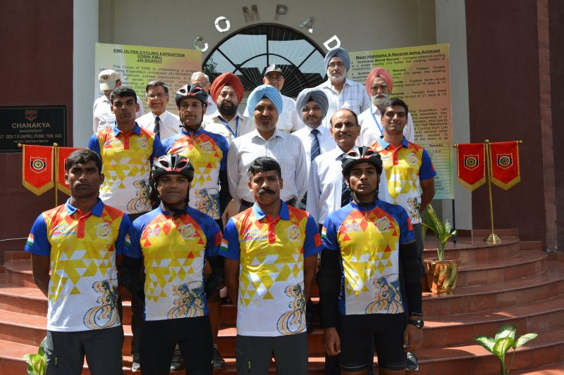 The team was felicitated by Lieutenant General Surinder Singh