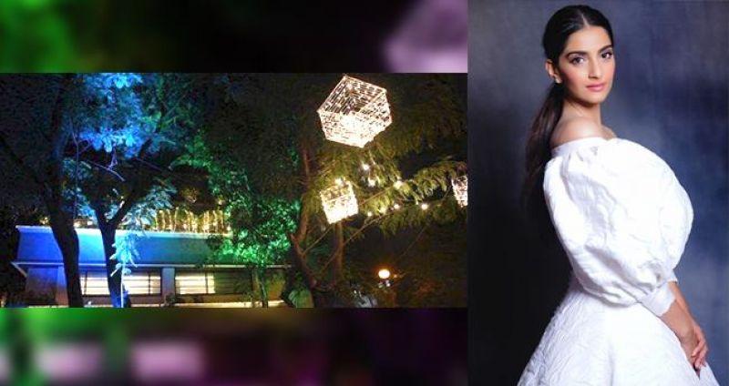 Anil Kapoor's House Looks All Glittery for Sonam Kapoor's Wedding