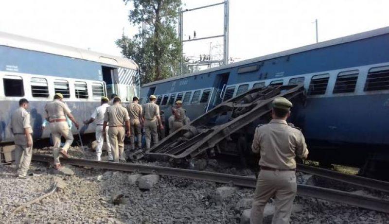 New Farakka Express derailment in Uttar Pradesh