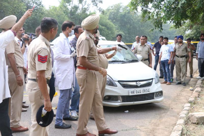 Gangster Dilpreet arrested from near the Sector-43 inter-state bus terminal