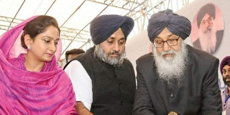 Warns Badals That Their Karma Was Catching Up With Them