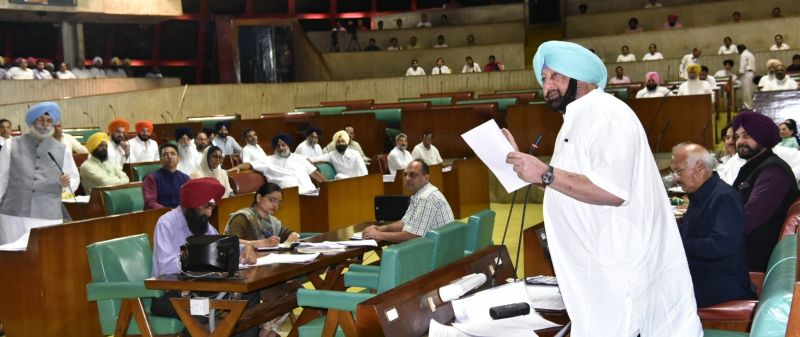 Captain Amarinder Singh described Sukhbir as a master of disinformation