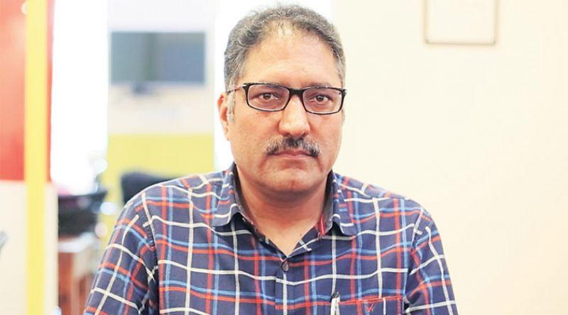 Rising Kashmir editor Shujaat Bukhari