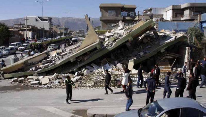Shallow quake hit 26 kilometres southwest of the city of Javanrud