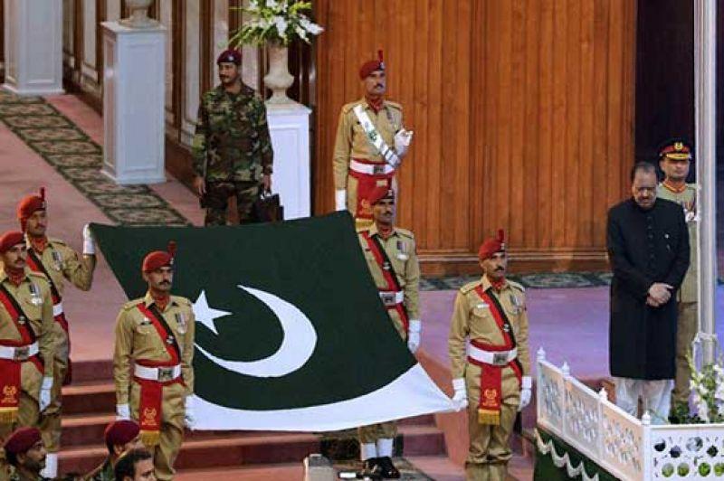 Flag Hosting Ceremony