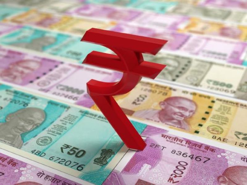 Rupee darted up 28 paise to close at 70 against the US dollar