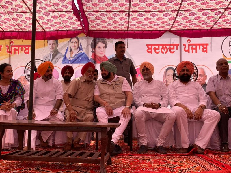 Captain Amarinder Singh on Thursday accused the Badals of trying to divide the people