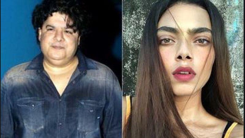 Sajid Khan and Paula