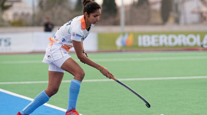 Gurjit, India's dragflicker, made no mistake in putting the ball past the Irish goalkeeper