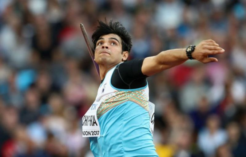 Chopra won the gold at the Sotteville Athletics meet in France